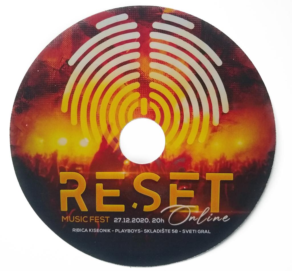 Dizajn cd nalepnice