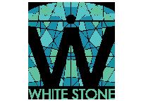Logo white stone